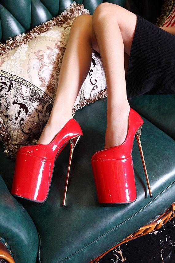 ultra high platform stripper heels 23cm heel 9inches stripper boots shop our pins pinterest. Black Bedroom Furniture Sets. Home Design Ideas