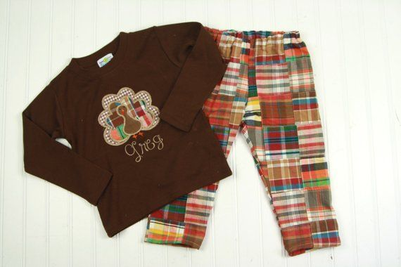 72213b096 Thanksgiving Outfit - Toddler Boys Thanksgiving Turkey Outfit - Thanksgiving  Shirt for Boy - Fall Ma