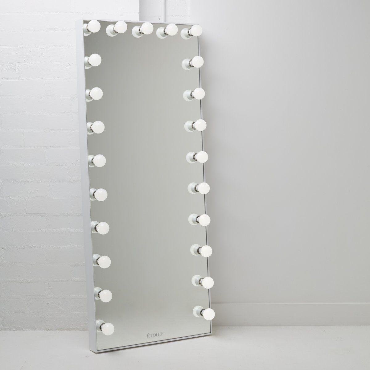 Hollywood Full-Length Vanity Mirror in 2020 | Diy vanity ...