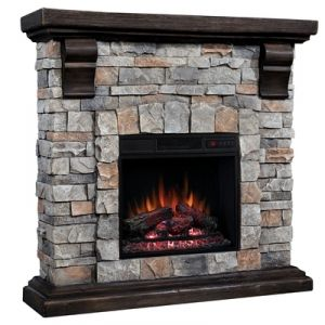 Find the Twin Star Stone Wall Mantel Fireplace With Insert by Twin Star at Mills Fleet Farm.  Mills has low prices and great selection on all Heaters.