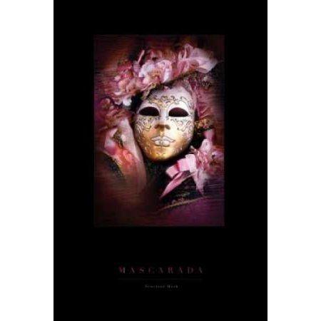 "Canvas Art Print /""Venetian Carnival Masks/"""
