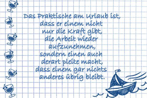 title (mit Bildern) | Sprüche urlaub