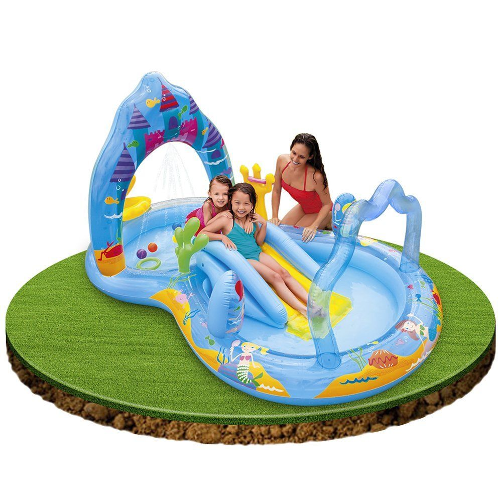 INTEX PLAYCENT.PRINCESS 279X160X140: Amazon.fr: Jeux et Jouets