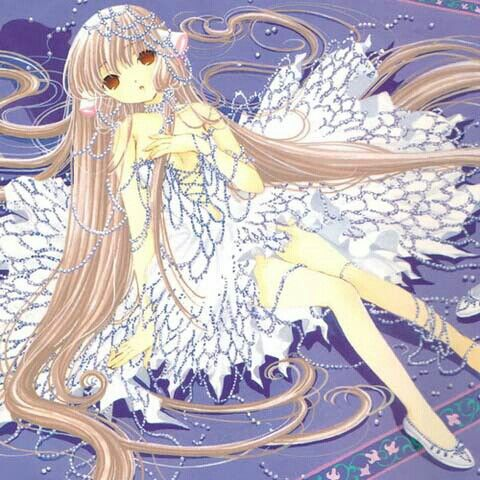 Chobits chi love the dress!