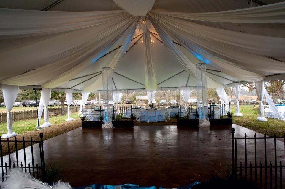 wedding tent new orleans Louisiana wedding venues