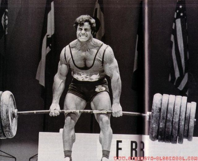 Franco Columbo Deadlifting He Was One Of The World S