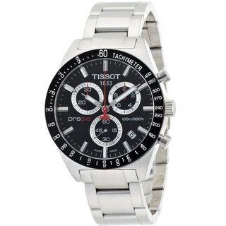 tissot menu0027s u0027prs 516u0027 chronograph tachymeter stainless steel watch