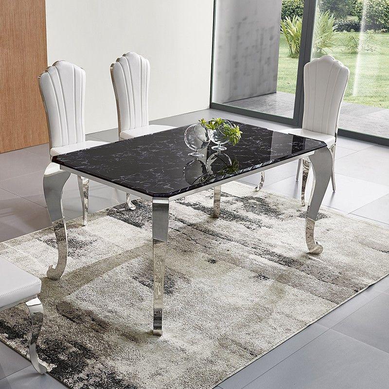 table a manger design verre trempe