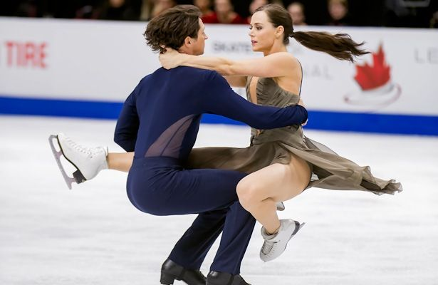 Tessa Virtue and Scott Moir of Canada perform their Free Dance at 2016 Skate Canada.