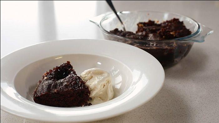 Microwave peanut butter & jam brownie | Peanut butter, Bbc ...