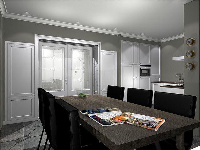 Kamer en suite in combinatie met keuken by - Keuken en woonkamer in dezelfde kamer ...