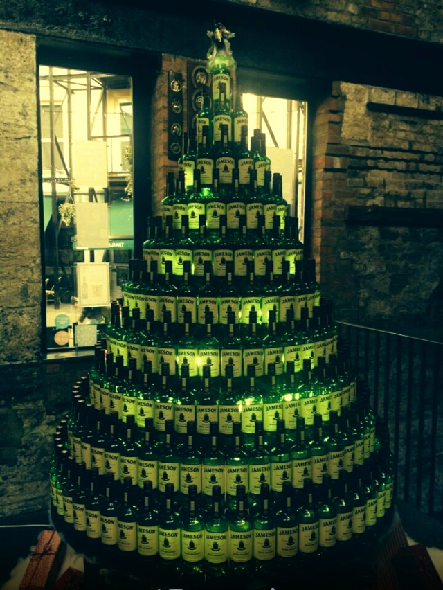 Jameson Irish Whiskey Christmas Tree (With images