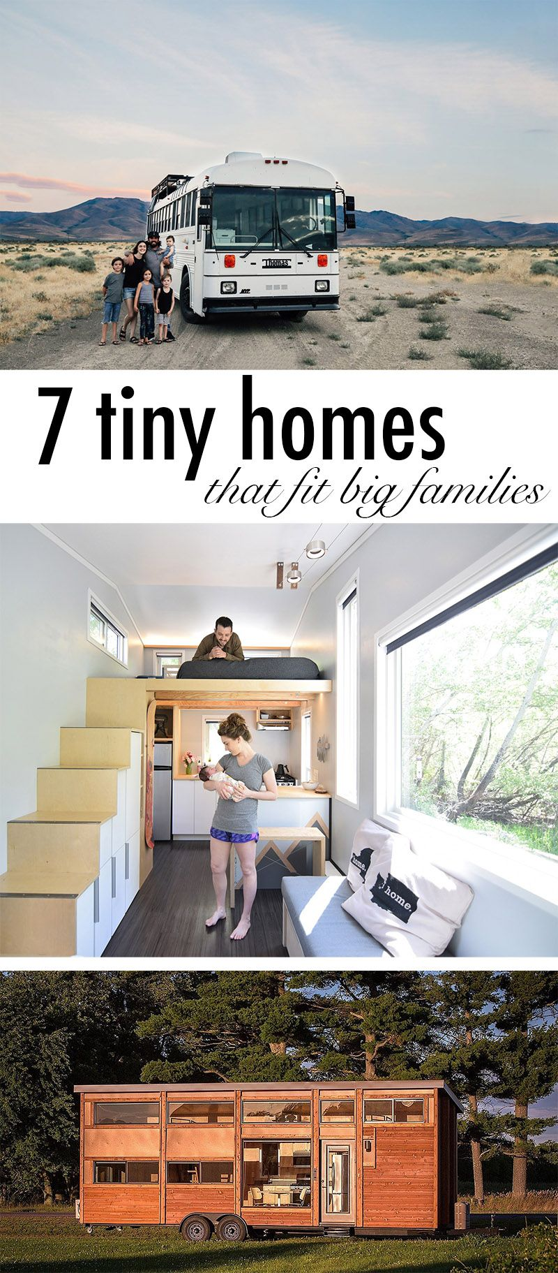 7 Beautifully Designed Tiny Homes That Fit Big Families Tiny House For Big Family Tiny House Family Tiny House Community
