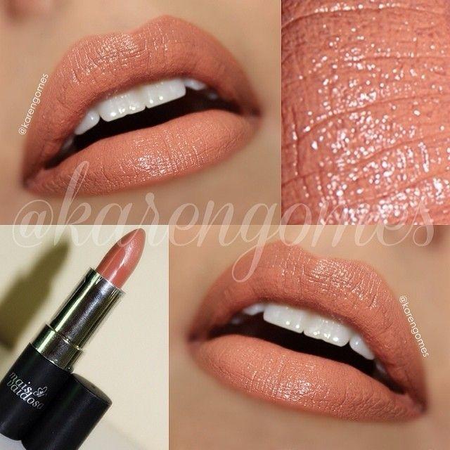 Perfeito para o dia-a-dia sem deixar com aquela boca tão apagada, batom Mais Vaidosa @Emma Goldsmith Vaidosa cor 04. ✨ ----------------------------------------------- Lipstick 04 by Mais Vaidosa @Emma Goldsmith Vaidosa (brazilian brand!) ✨ - @Karen Jacot Gomes- #webstagram
