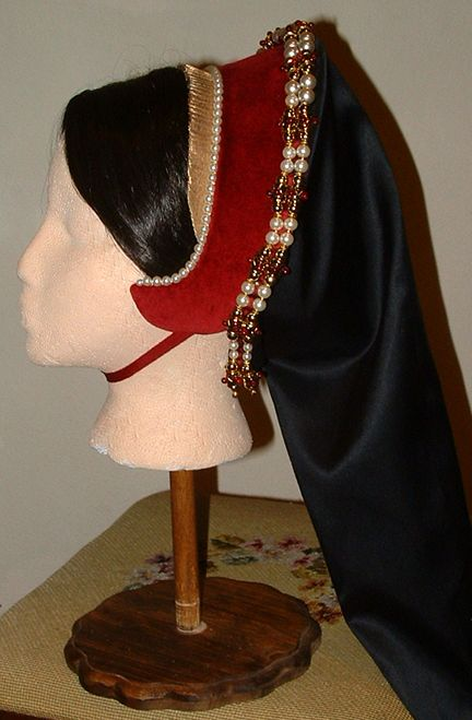 compleated French hood | French Hood, headdresses, and cauls ...
