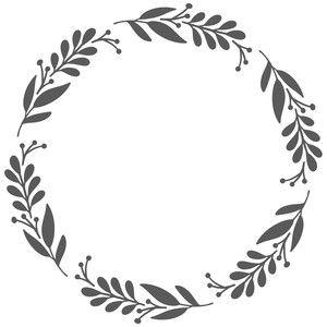 Photo of Silhouette Design Store: petal wreath
