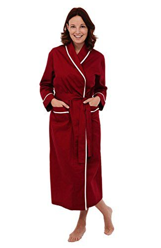 Del Rossa Women s Cotton Robe ac2d111ff