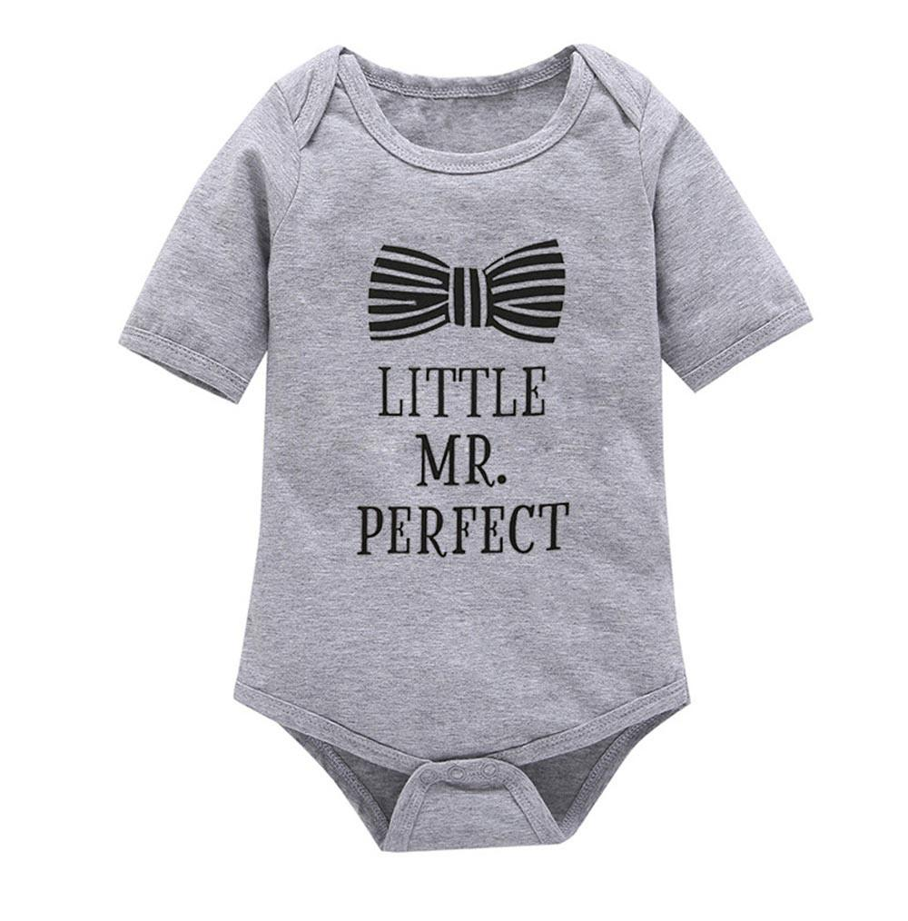 c133f0706 2017 New Summer Baby Clothing Baby Boys Clothes Girls Short Sleeves Letter  Rompers Infant Toddler One