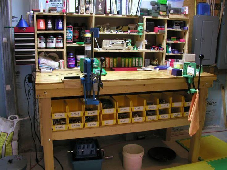 Related image reloading bench pinterest guns for Apartment workbench plans
