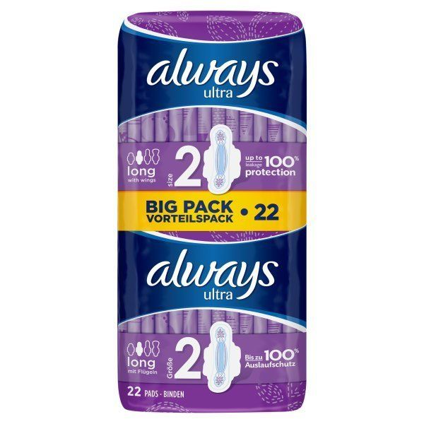 Always Ultra Long With Wings Value Pack Always Sanitary Pads