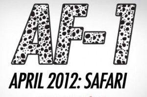 Nike Air Force 1 + Safari Print Option bei NIKEiD.com
