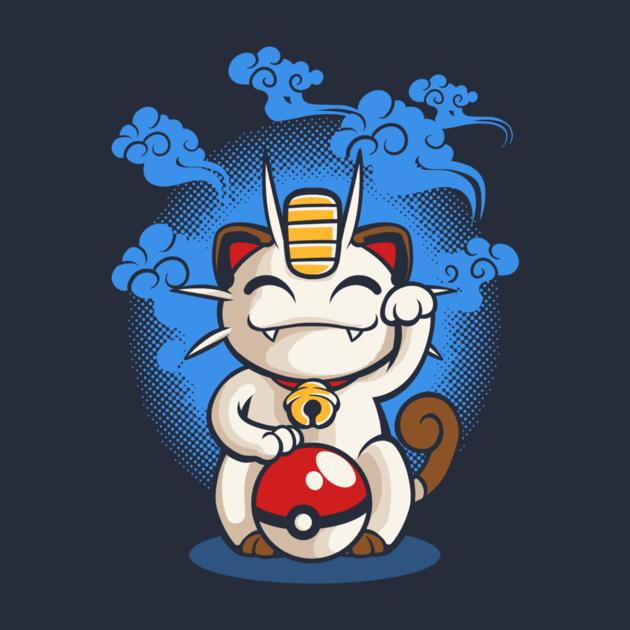 Lucky Meowth T Shirt The Shirt List Pokemon Meowth Pokemon Cute Pokemon