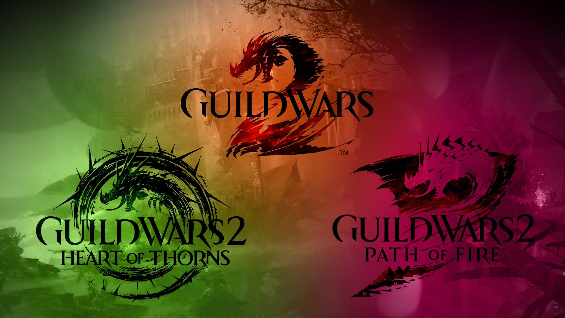 Guild Wars 2 Hot Pof Wallpaper I Made 1920x1080 Guild Wars