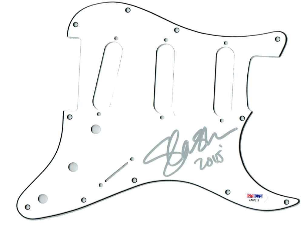 Slash GnR Guns and Roses Signed Guitar Pickguard Certified