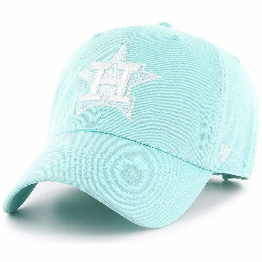 half off 6387b c153f Houston Astros  47 Women s Spring Fashion Clean Up Adjustable Hat – Light  Blue, ...