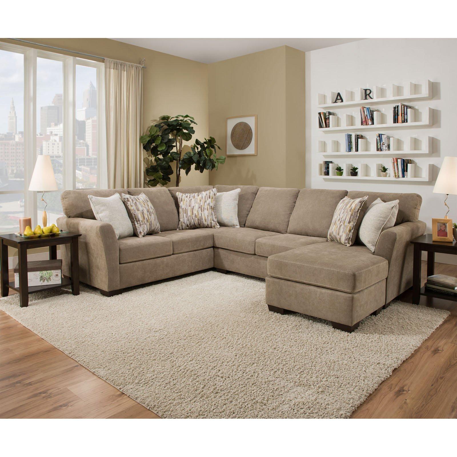 Simmons Upholstery Pacific Sectional Sofa Sectional Sofa Lane