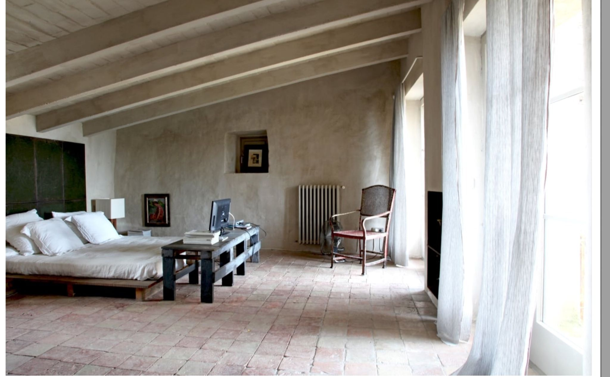 Bedroom interior roof pin by cathie herrmann on sous les toits  pinterest