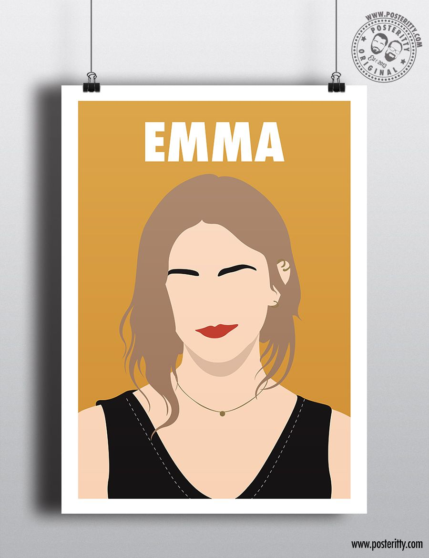 LANA DEL REY Minimalist Strong Female Print Minimal Inspirational Women Poster