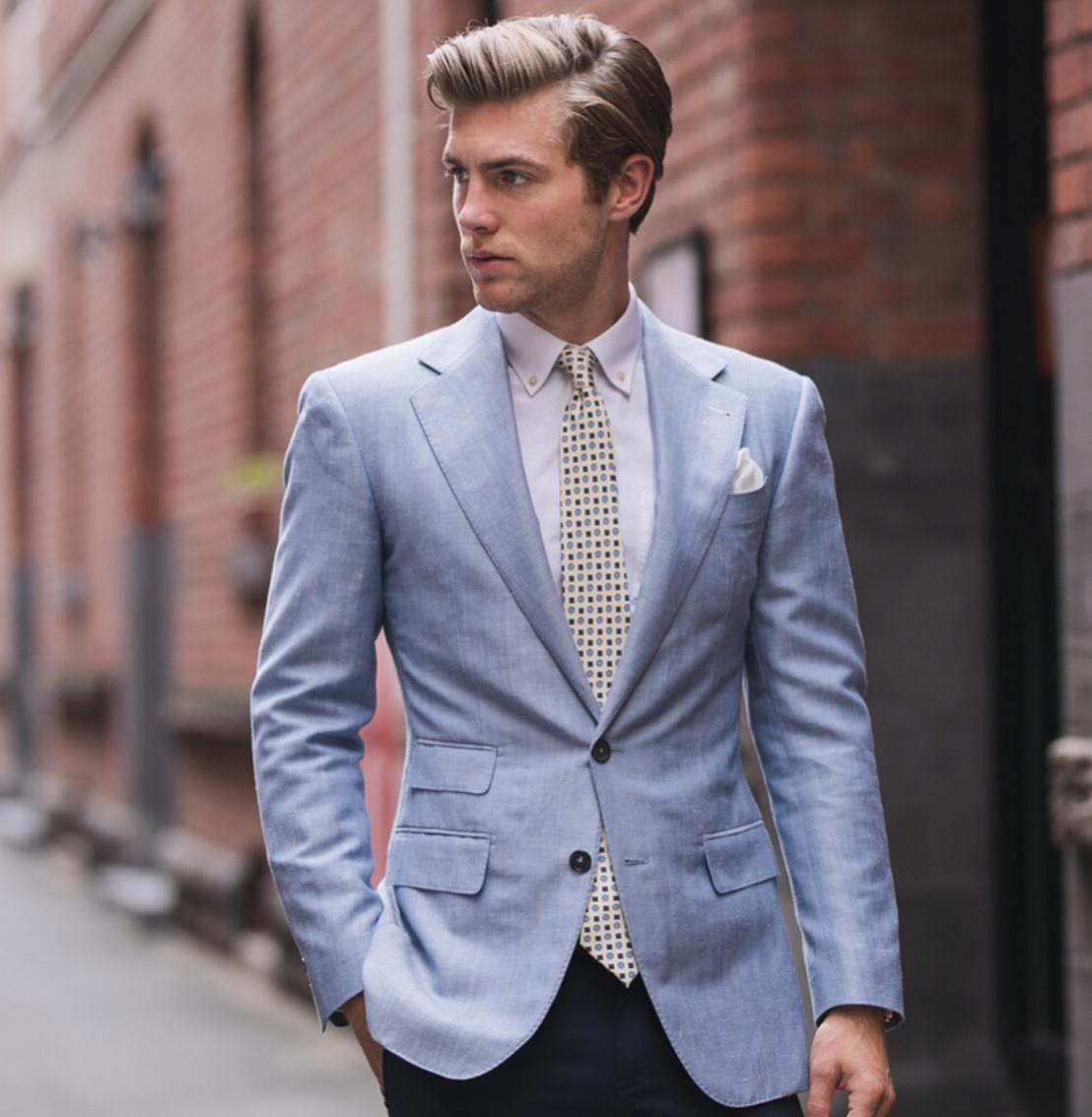 Mens Patterned Blazers Cool Design