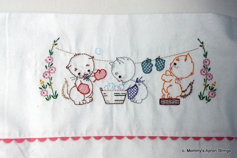 Cot Sheet Embroidery Patterns Vintage Embroidered Baby Blankets