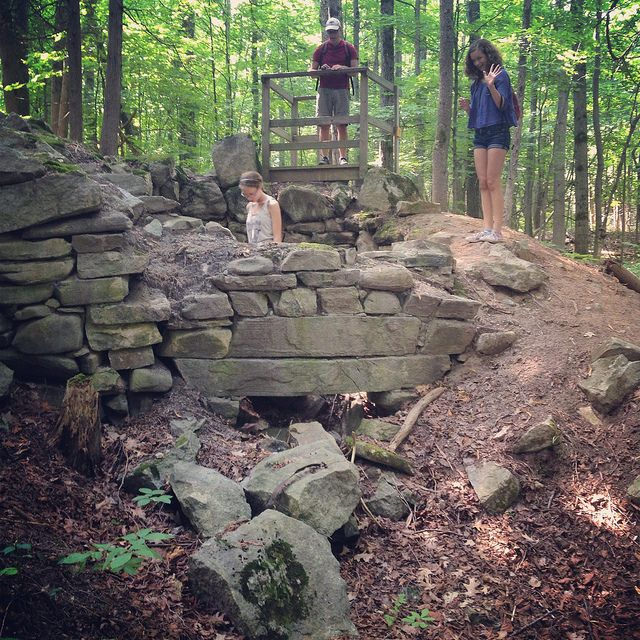 Another neat place to explore in Ottawa! >> Abandoned Lime Kiln along Macnamara Trail, Arnprior