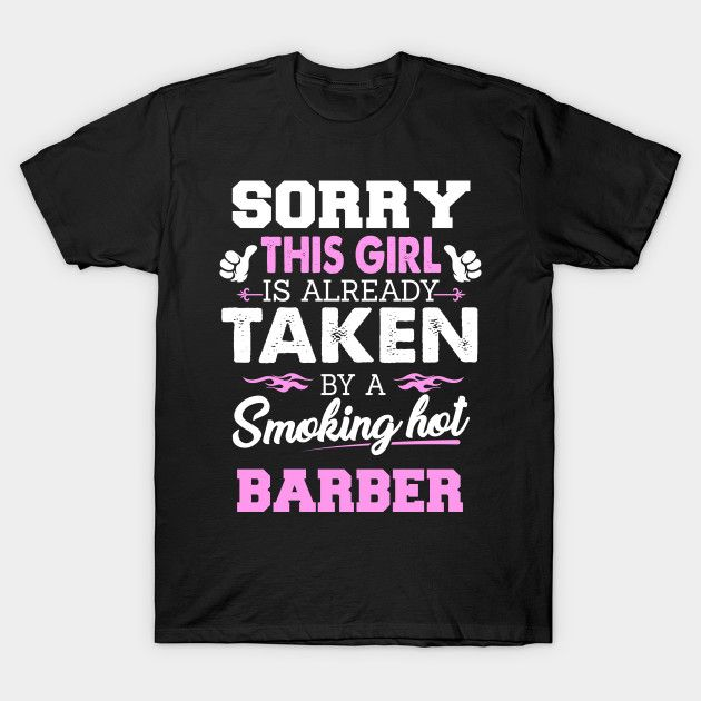 Barber Shirt Cool Gift For Friend Or Wife Of T Image