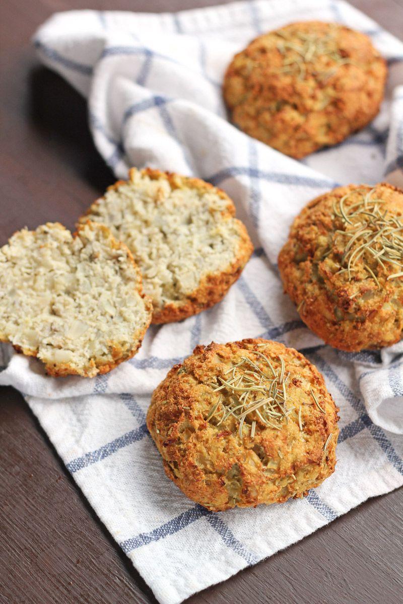 Grain Free Rosemary Cauliflower Biscuits Skipped The Rosemary