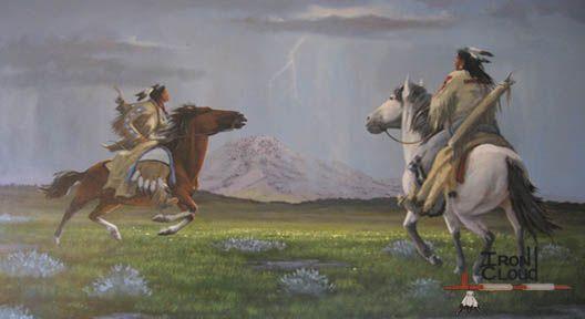 Thunder on the Mountain - Del Iron Cloud