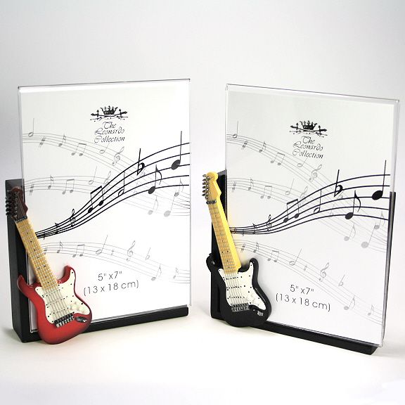 electric guitar photo frames