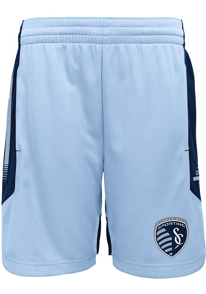 Sporting Kansas City Youth Light Blue Through Ball Shorts - 13347478 #lightblueshorts