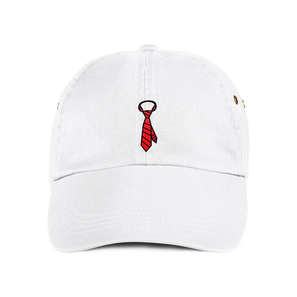 7116527f4c3 Red Neck Tie Dad Hat Baseball Cap. White. Are you a hard worker who ...