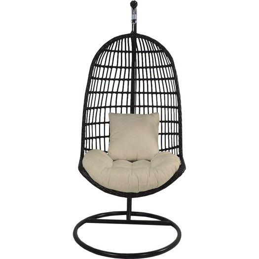 Patio Heaven Skye Bird S Nest Swing Chair With Stand Swinging Chair Nest Swing Hammock Swing Chair
