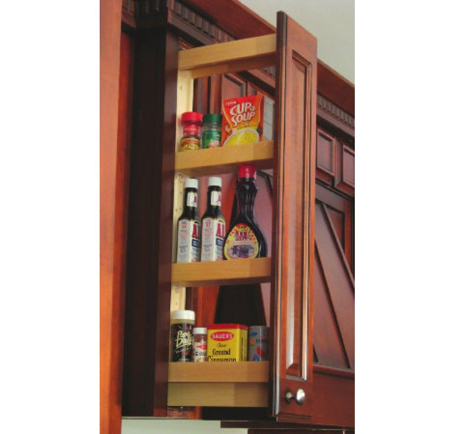 Pull Out Spice Rack For Upper Cabinets Pull Out Spice Rack Wall Spice Rack Upper Kitchen Cabinets