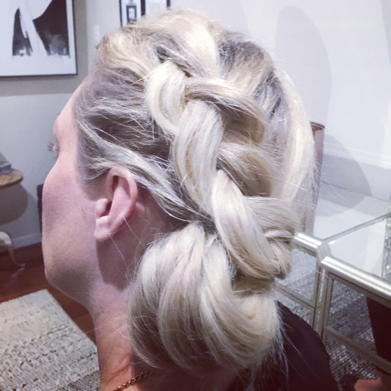 Braid updo formal hairstyles pinterest
