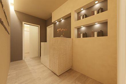 Arredamento centro estetico beauty center pinterest for Arredamento per estetica