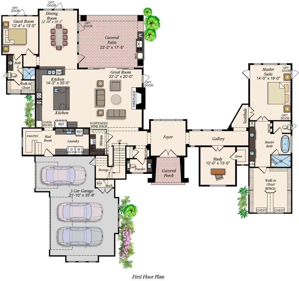 50 Custom Home Floor Plans Si1n