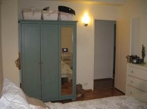 Awesome Ikea Aspelund wardrobe painted Great way to customize cheap mass produced furniture