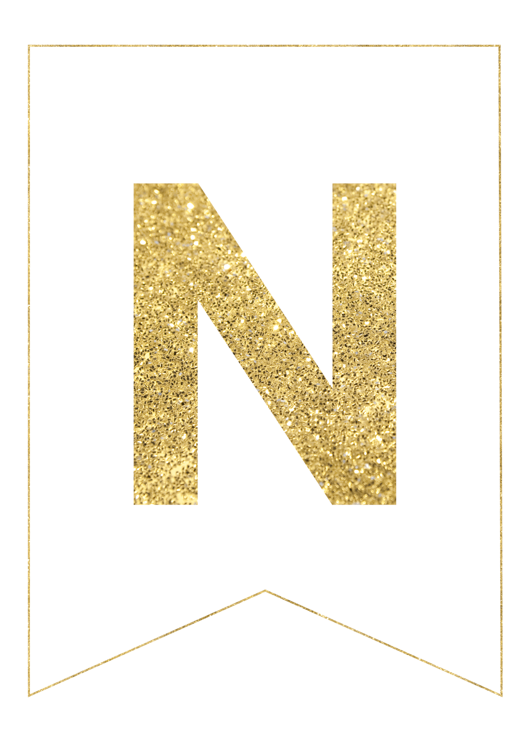 gold free printable banner letters use our gold free printable banner letters to make any custom