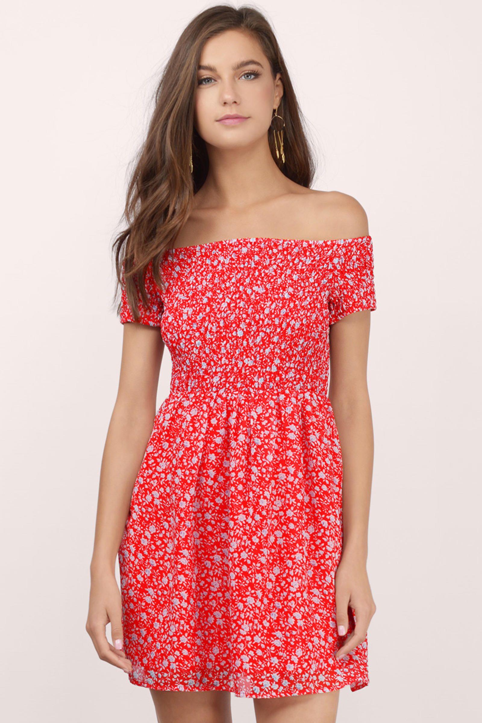 Rita off shoulder floral dress hotty toddy pinterest shoulder
