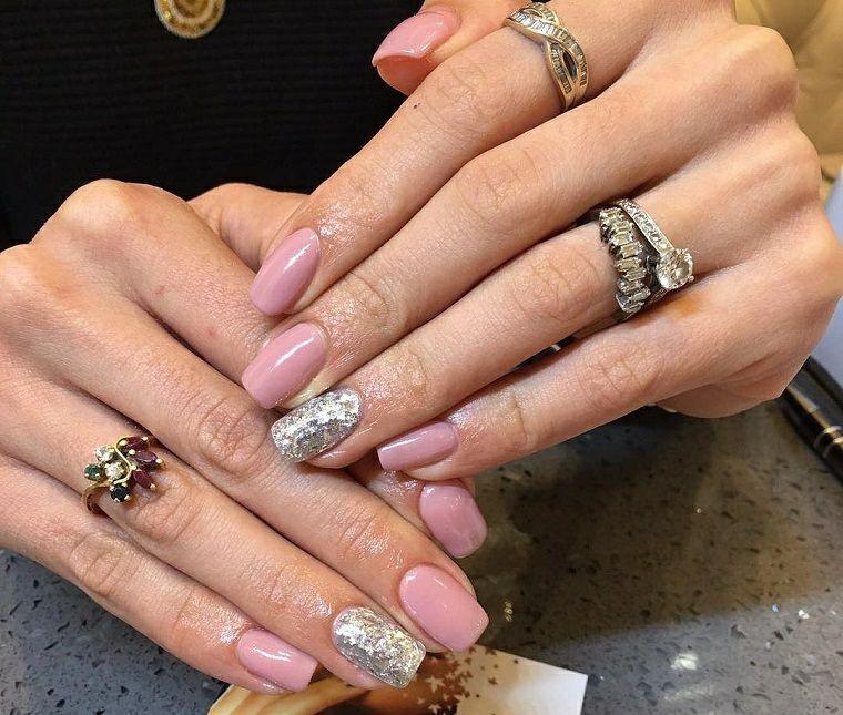 fotos de uñas de gel bonitas | Belleza | Pinterest